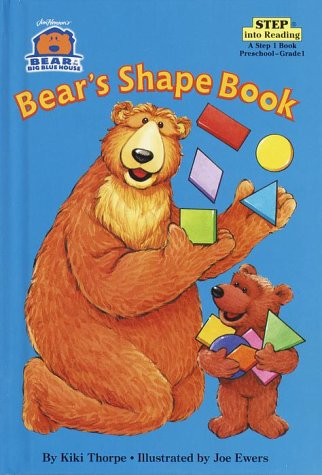 9780375905148: Bear in the Big Blue House: Bear's Shape Book (Step into Reading)