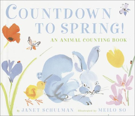 9780375913648: Countdown to Spring!: An Animal Counting Book