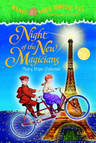 Magic Tree House #35: Night of the New Magicians (A Stepping Stone Book(TM)): Mary Pope Osborne