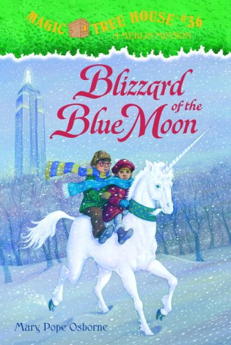9780375930379: Magic Tree House #36: Blizzard of the Blue Moon (A Stepping Stone Book(TM))
