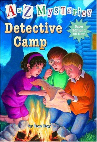 9780375935343: A to Z Mysteries Super Edition 1: Detective Camp (A Stepping Stone Book(TM))
