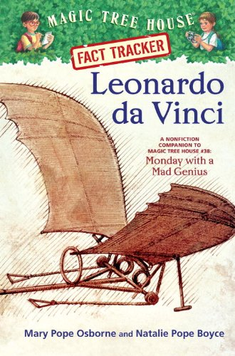 9780375946653: Leonardo da Vinci: A Nonfiction Companion to Magic Tree House #38: Monday with a Mad Genius