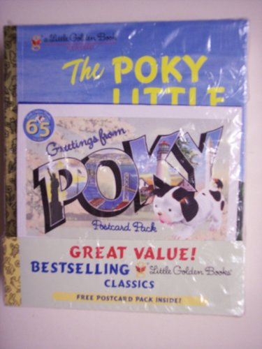 9780375952395: LITTLE GOLDEN BOOKS CLASSICS (65 YEARS WITH GREETINGS FROM POKY POSTCARD PACK) 10 BOOKS SET