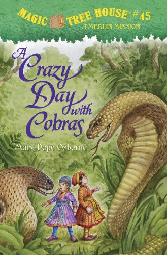 9780375968235: Magic Tree House #45: A Crazy Day with Cobras (Magic Tree House (R))