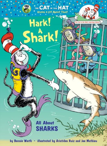 9780375970733: Hark! A Shark!: All About Sharks (Cat in the Hat's Learning Library)
