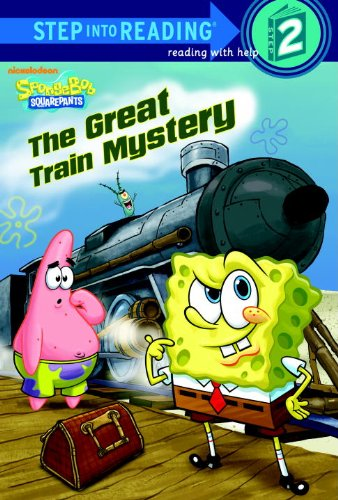 9780375971624: The Great Train Mystery (SpongeBob SquarePants) (Step into Reading)