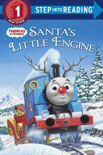 9780375972102: Santa's Little Engine (Thomas & Friends) (Step into Reading)