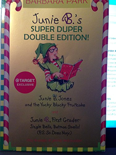 9780375972676: Junie B's Super Duper Double edition! Target exclusive