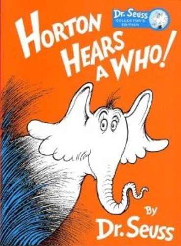 DR. SEUSS HORTON HEARS A WHO! Collector's: Dr. Seuss