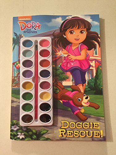 9780375974595: Dora and Friends Doggie Rescue! (Deluxe Paint Box Book)