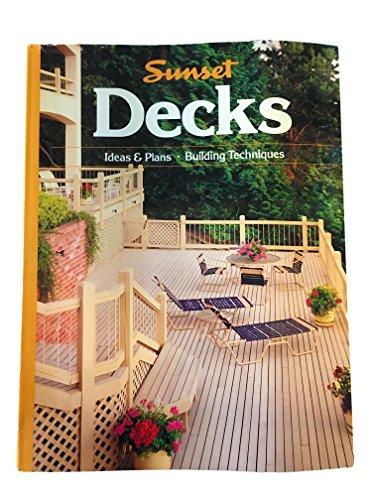 9780376010780: Decks Ideas Plans Buildg Tech (Southern Living)