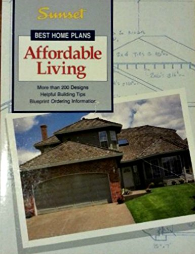 9780376011404: Affordable Living (Best Home Plans)