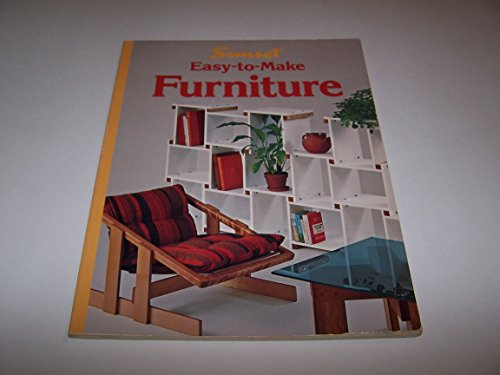 9780376011770: Easy To Make Furniture