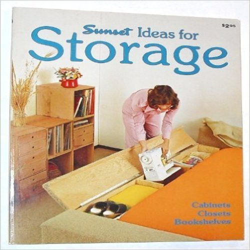 9780376015549: Sunset Ideas for Storage