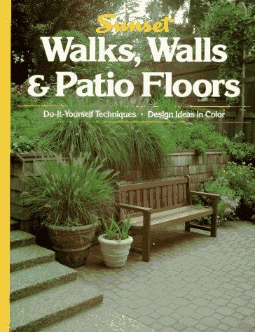 9780376017079: Walks, Walls & Patio Floors
