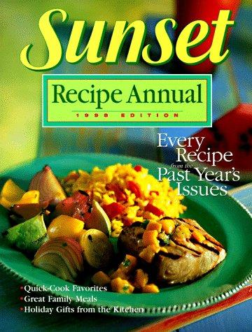 9780376020161: Sunset Recipe Annual 1998