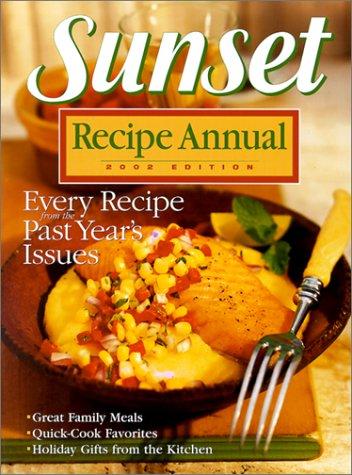 9780376027108: Sunset Recipe Annual 2002
