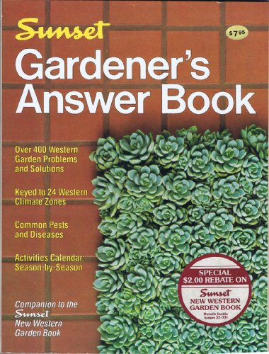 9780376031860: Sunset Gardener\'s Answer Book - AbeBooks - Sunset ...