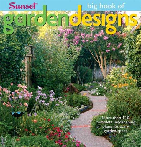 9780376031891: Big Book of Garden Designs (Big Book Of... (Sunset Books))