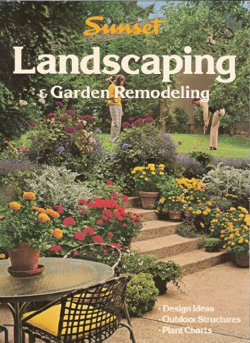 Sunset Landscaping and Garden Remodeling, colorful design: Sunset