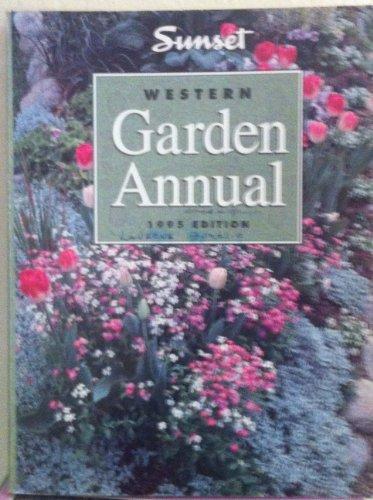 9780376038579: Western Garden Annual: 1995 Edition
