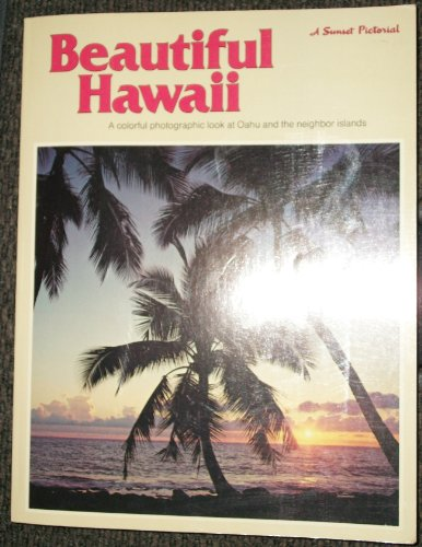9780376053725: Beautiful Hawaii (A Sunset pictorial)