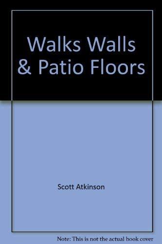 9780376090478: Walks, Walls & Patio Floors