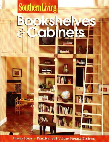 9780376090560: Bookshelves & Cabinets (Southern Living (Paperback Sunset))