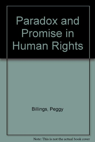 9780377000834: Paradox and Promise in Human Rights