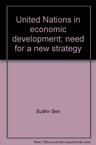 9780379003857: United Nations in economic development;: Need for a new strategy