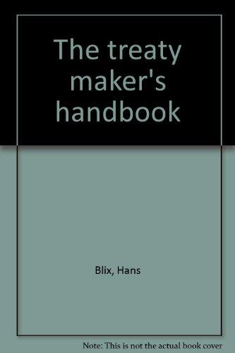 9780379004809: The treaty maker's handbook