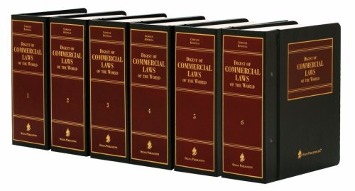9780379010008: Digest of Commercial Laws of the World