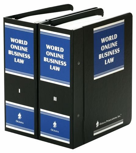 9780379012873: World Online Business Law