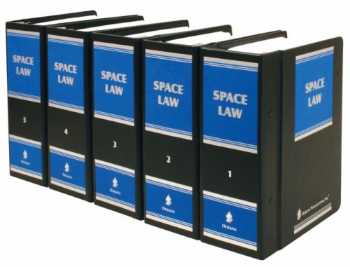 9780379012927: Space Law