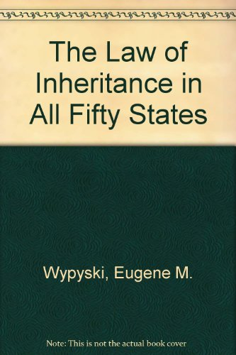 9780379111064: The Law of Inheritance in All Fifty States (Legal almanac series ; no. 33)
