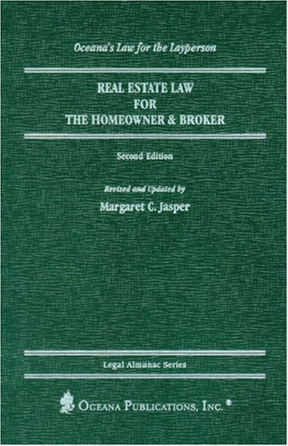 9780379113457: Real Estate Law for the Homeowner and Broker (Legal Almanac Series)