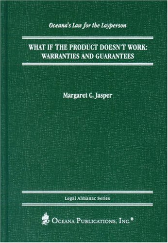 9780379113815: What if the Product Doesn't Work?: Warranties and Guarantees