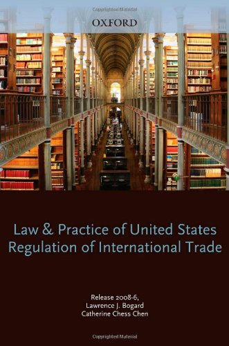 Law and Practice of United States Regulation of International Trade ALL 3 BINDERS isbn 0379120992