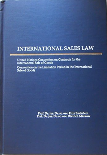 9780379204186: International Sales Law: United Nations Convention on Contracts for the International Sale of Goods