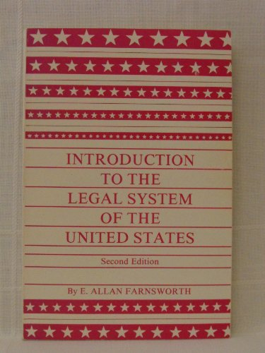 9780379207200: An Introduction to the Legal System of the United States
