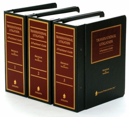 9780379213652: Transnational Litigation: A Practitioner's Guide