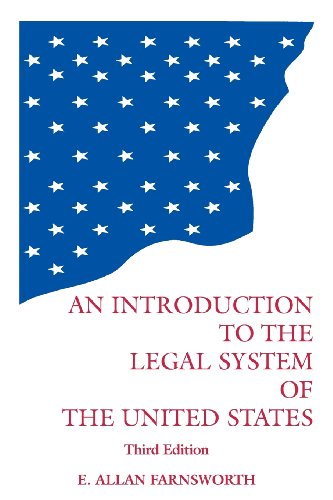 9780379213737: Introduction to the Legal System of the United States