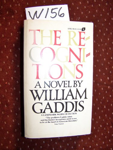 Recognitions (038000030X) by William Gaddis