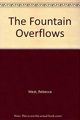 9780380000739: The Fountain Overflows
