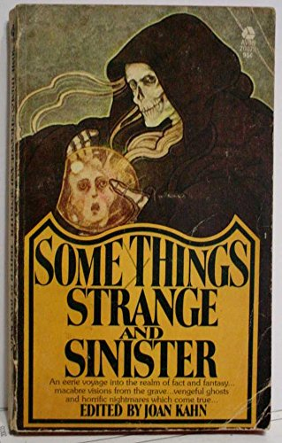 9780380000845: Some Things Strange and Sinister