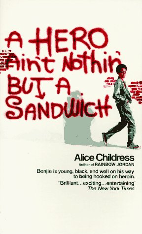 9780380001323: A Hero Ain't Nothin' But A Sandwich