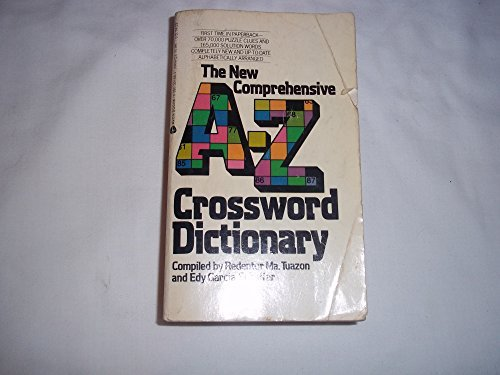 9780380001682: The New Comprehensive A-Z Crossword Dictionary