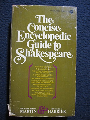 9780380002382: Concise Encyclopedic Guide to Shakespeare