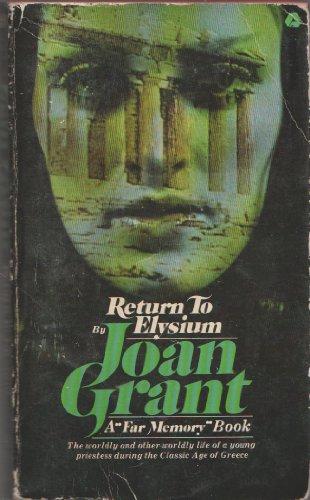 9780380003419: Return to Elysium