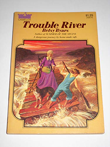 9780380003457: Trouble River